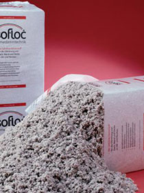 Wełna celulozowa isofloc